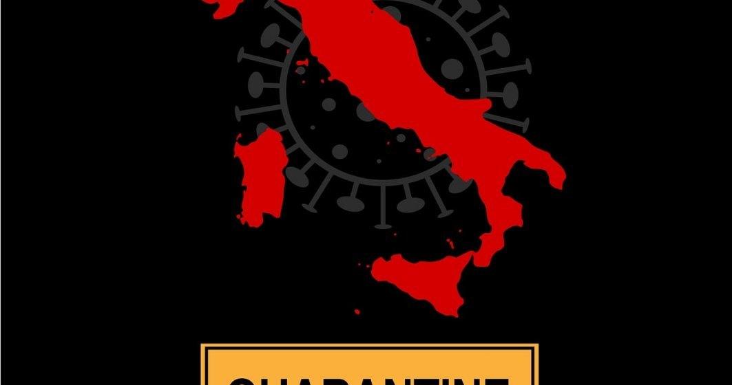 Un nou RECORD tragic în Italia: 793 de morți și peste 6.500 de îmbolnăviri