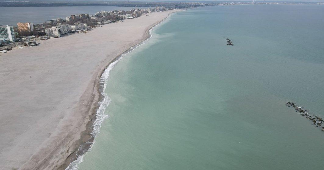 Plaja lărgită din Mamaia, mărul discordiei de pe litoral: