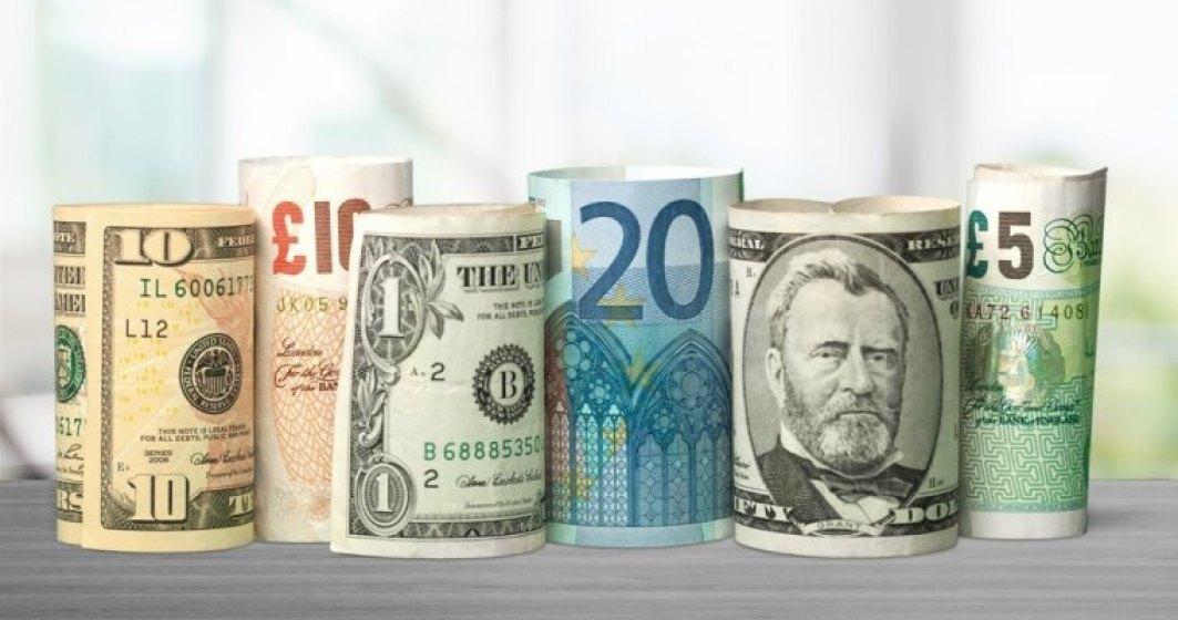 Curs valutar BNR astazi, 31 octombrie: euro se apreciaza usor, dar dolarul creste tot mai sustinut
