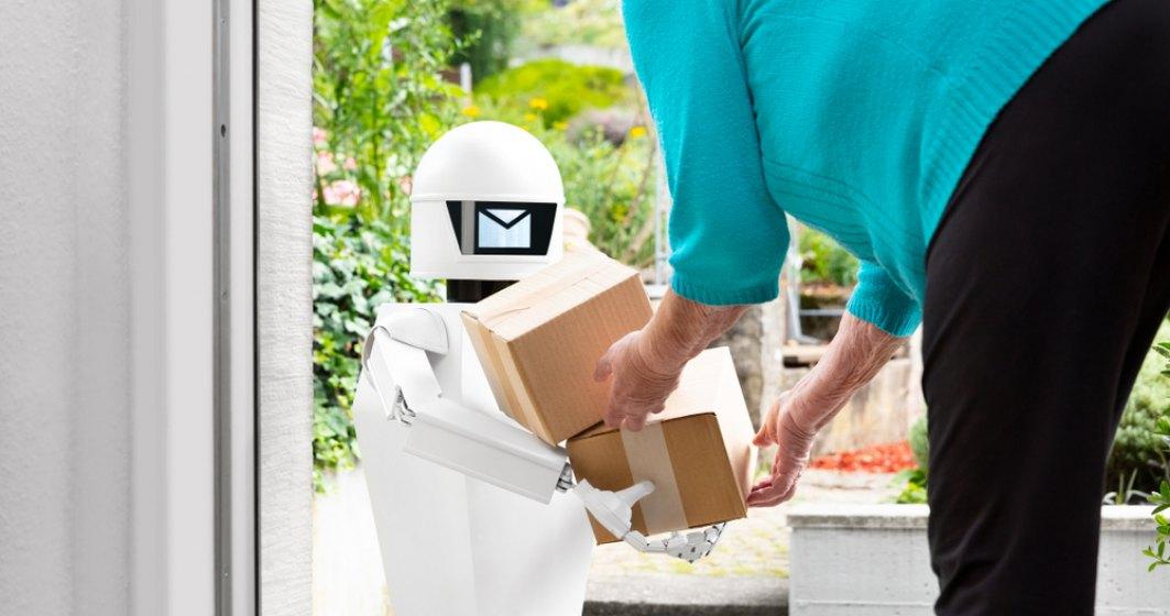 Roboţii de livrare vor apărea întâi în clădirile cu multe birouri