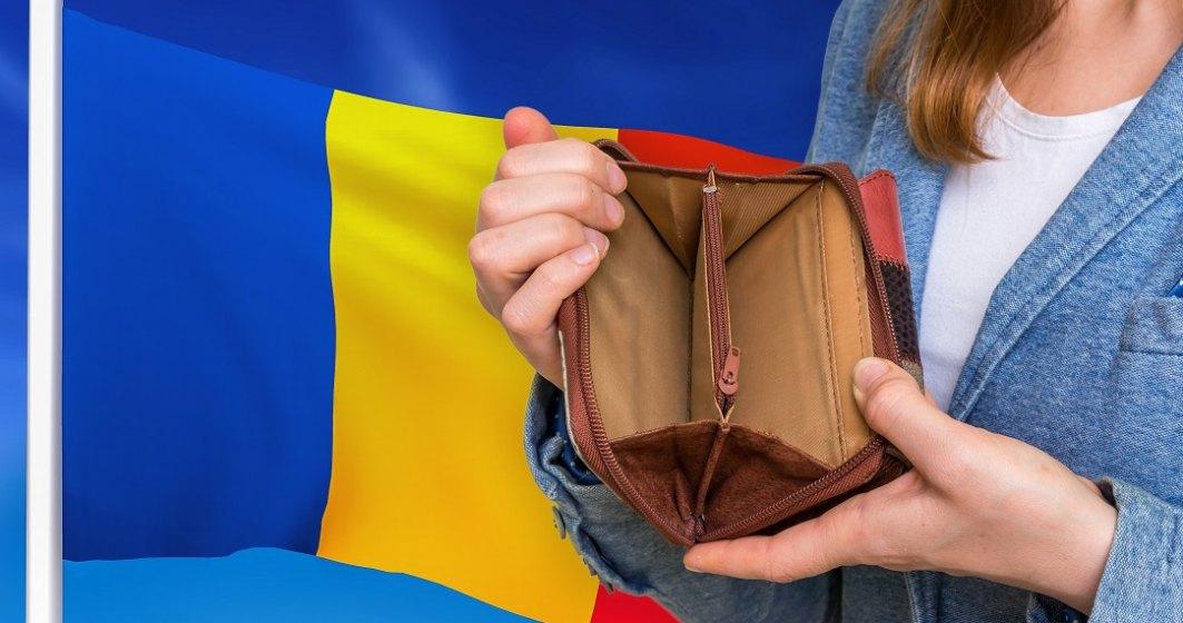 Situație îngrijorătoare: criza de COVID-19 îi găsește săraci pe jumătate dintre români
