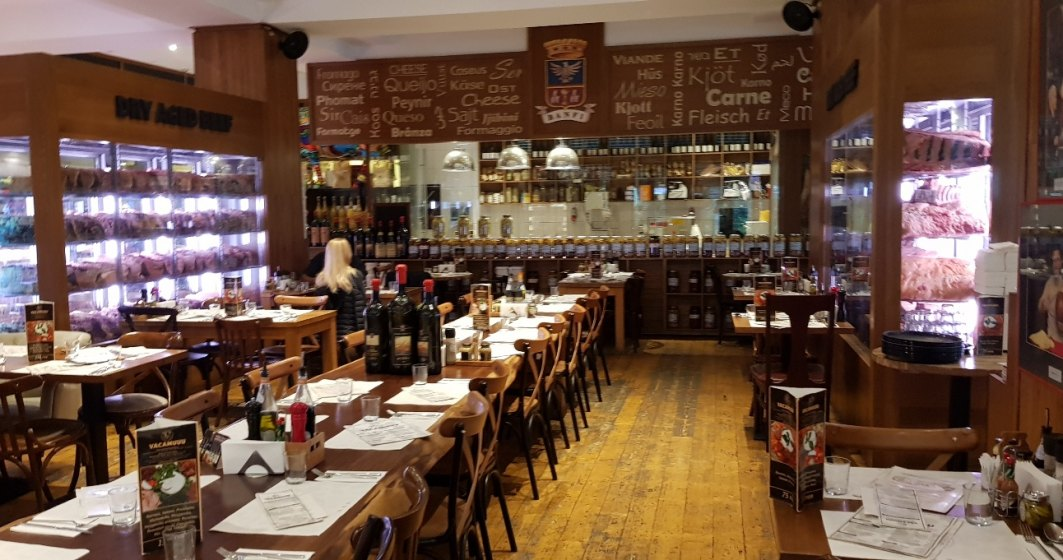Steakhouse din Bucuresti fara vin romanesc la pahar...