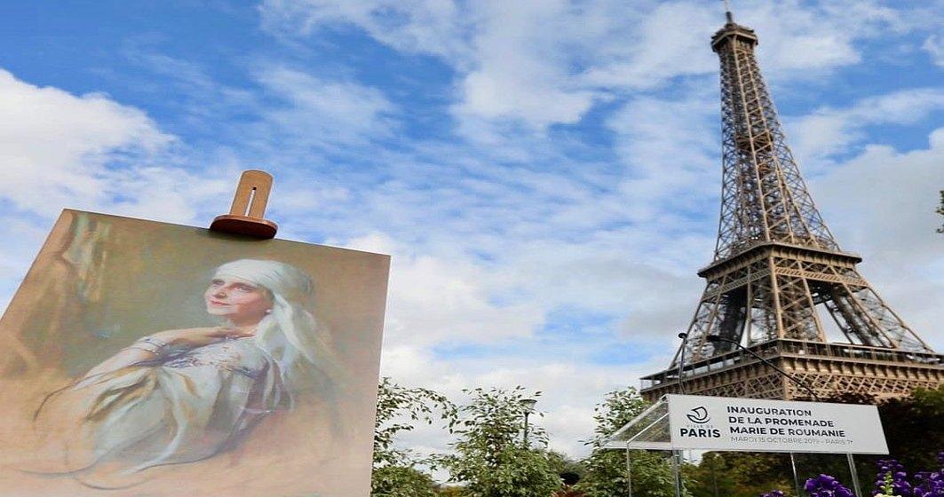 La Paris a fost inaugurata Promenada Regina Maria a Romaniei