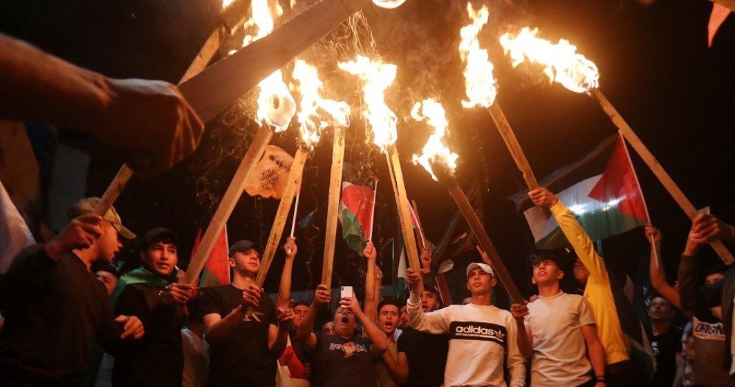 Raidurile israeliene au ucis, într-o singură zi, 42 de palestinieni în Gaza