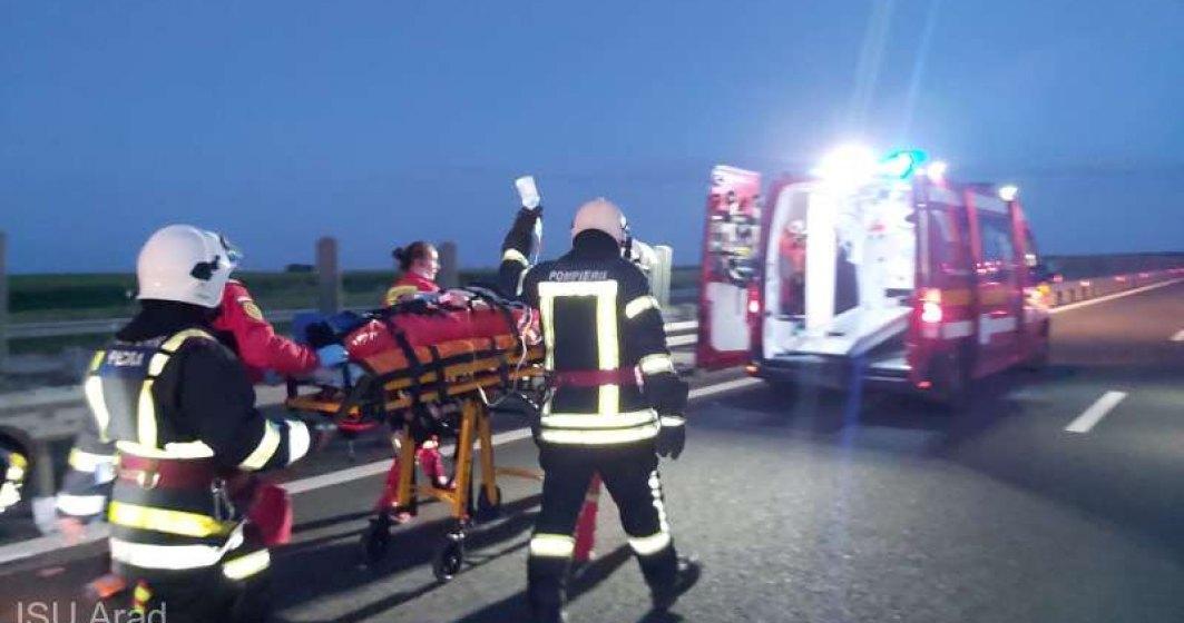 Accident grav în Arad: un pasager a decedat și 16 au fost răniți