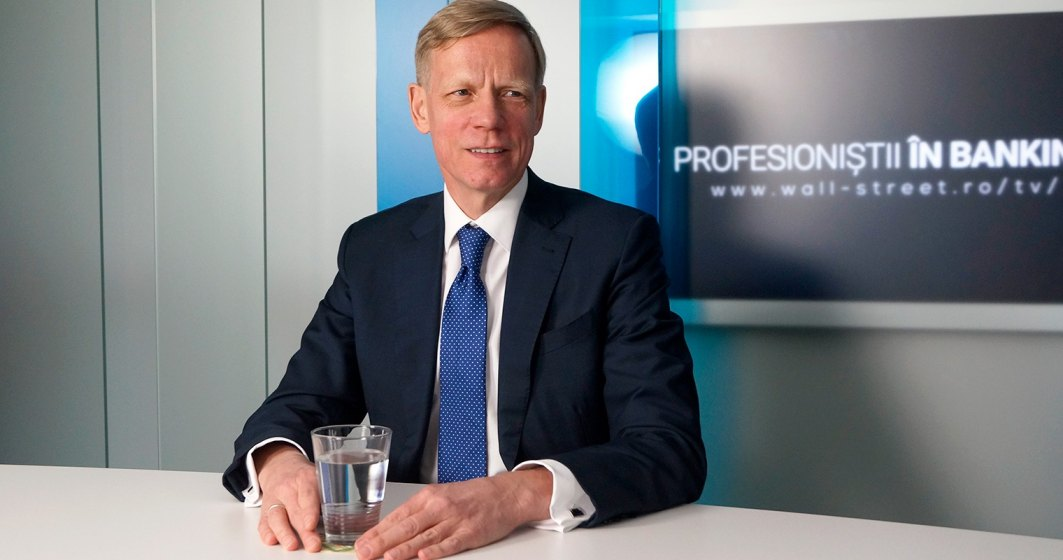 Steven van Groningen: Taxa pe activele bancare va fi platita de consumatori, bancile doar o colecteaza!