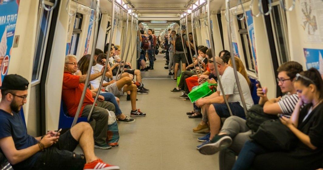 Circulatia la metrou, prelungita cu ocazia meciului Romania-Suedia