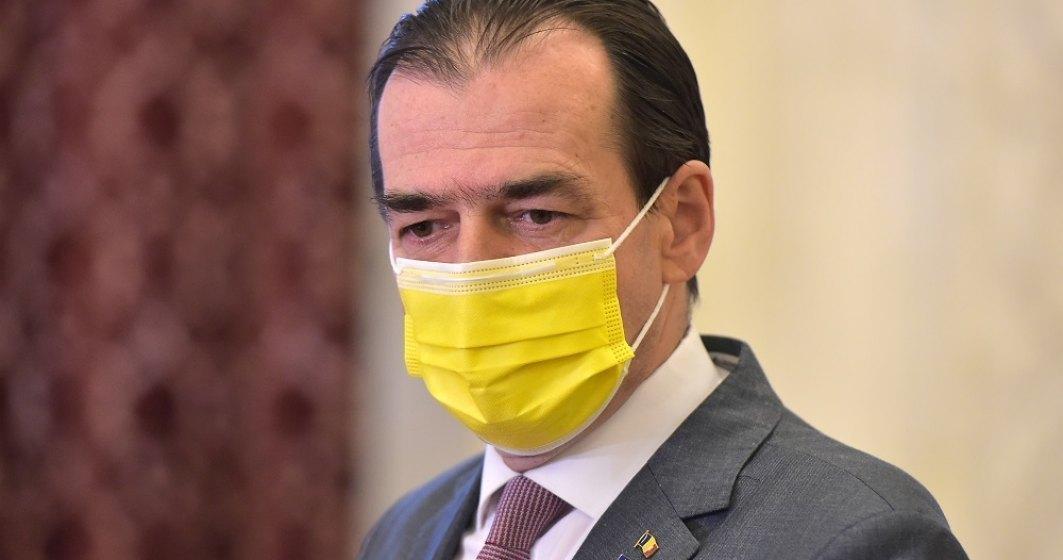Ludovic Orban, supărat pe Klaus Iohannis după ce a pierdut în fața lui Cîțu