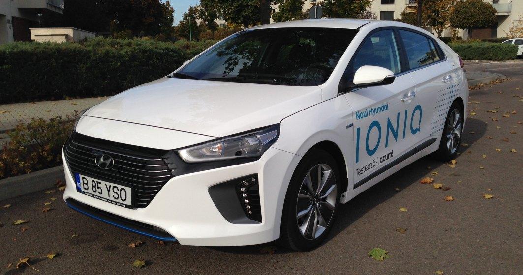 Hyundai Ioniq, hibridul cu puteri de plug-in - test drive