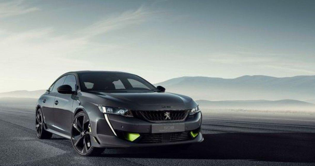 Peugeot 508 Sport va avea 360 de cai putere: versiunea sportiva plug-in hybrid se lanseaza in 2020