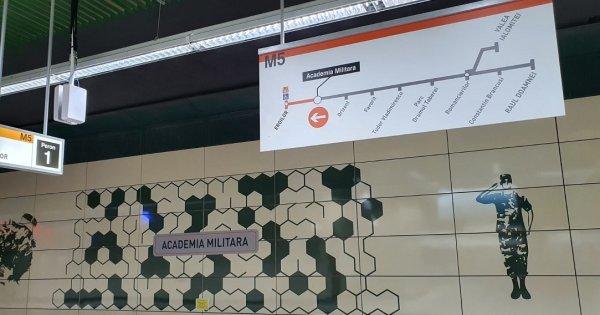 FOTO | Cum arată Magistrala 5 de metrou Drumul Taberei - Eroilor
