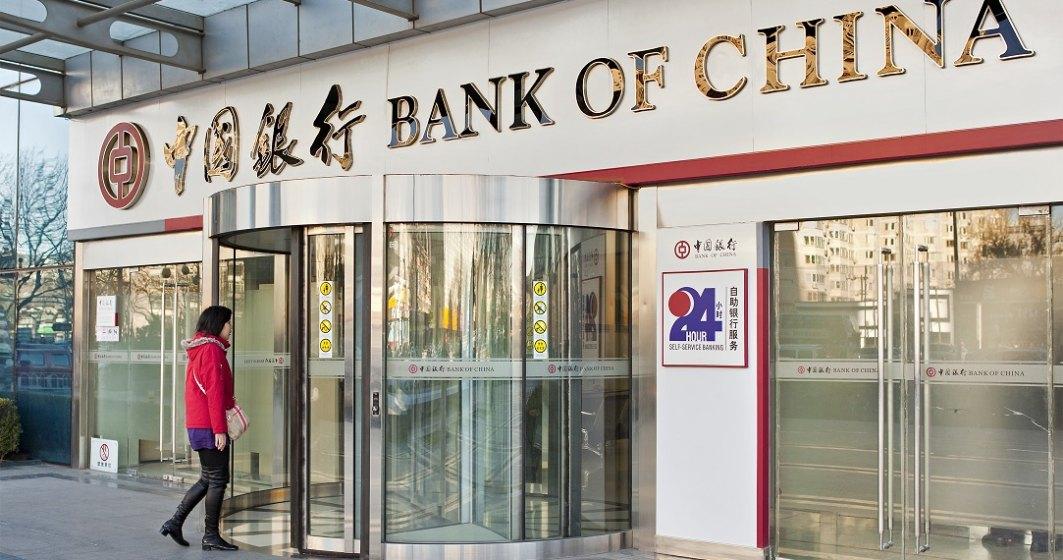 Bank of China intra pe piata din Romania, printr-o sucursala deschisa la Bucuresti