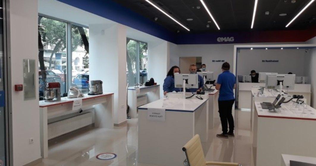 eMAG deschide primul showroom din afara României, unde vrea să ajungă la vânzări de un miliard de euro în 5 ani