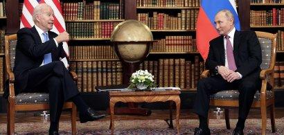 Summit Geneva: Cum s-a încheiat întâlnirea dintre Joe Biden și Vladimir Putin