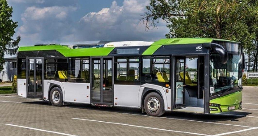 Oradea cumpără 15 autobuze hibrid din bani europeni