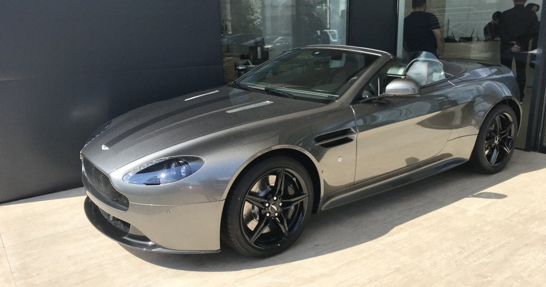 Aston Martin a lansat oficial operatiunile in Romania