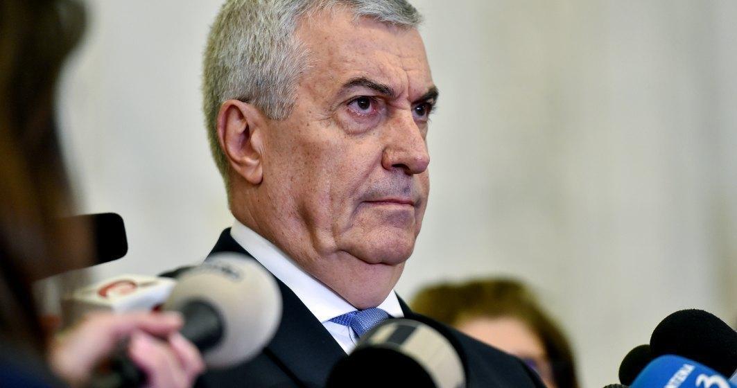 Calin Popescu Tariceanu anunta desfiintarea grupului ALDE din Senat si infiintarea unui grup mixt