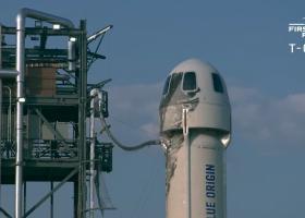 Jeff Bezos, cel mai bogat om de pe planetă, a decolat spre spaţiu la bordul...