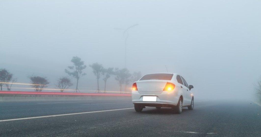 Atentionare de ceata in 28 de judete in urmatoarele ore