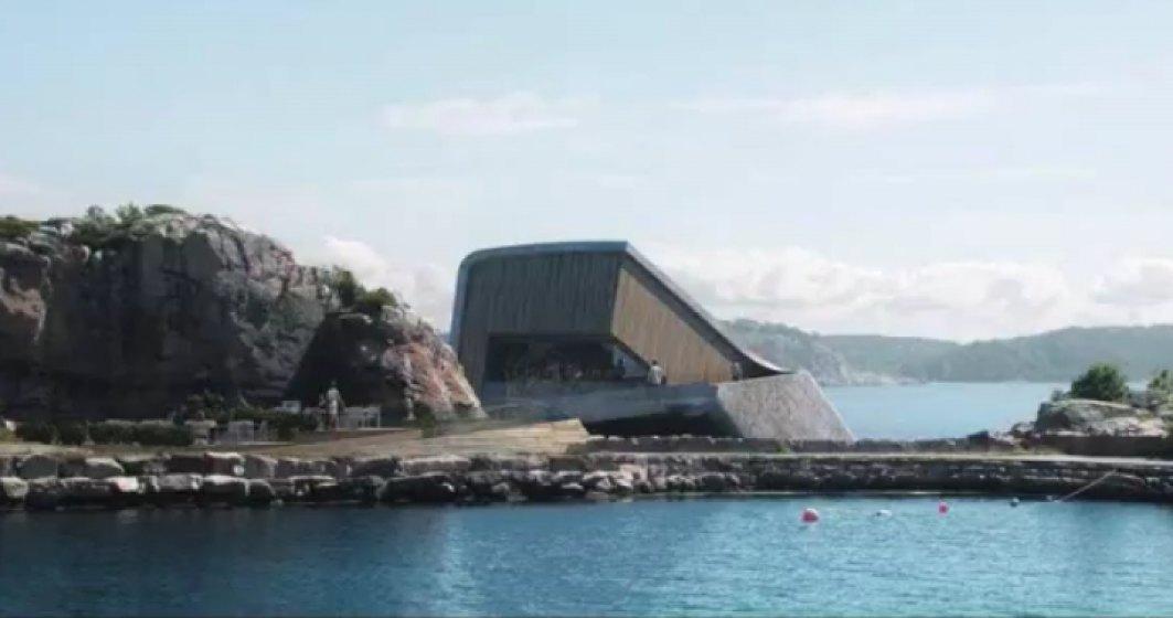 VIDEO Cum arata primul restaurant din Europa construit sub apa