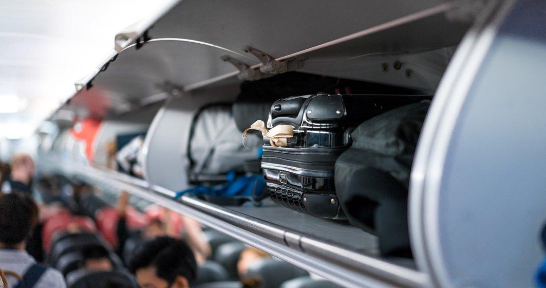 Italia a interzis bagajele în compartimentele din cabina avioanelor