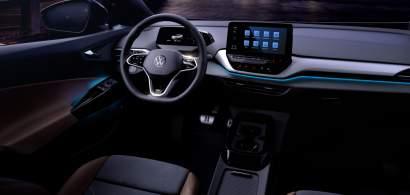 Așa arată interiorul Volkswagen ID.4. Primele poze oficiale cu interiorul...