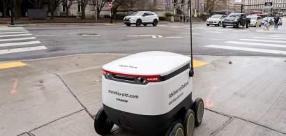Glovo vrea să facă livrări cu roboți autonomi, la Brașov