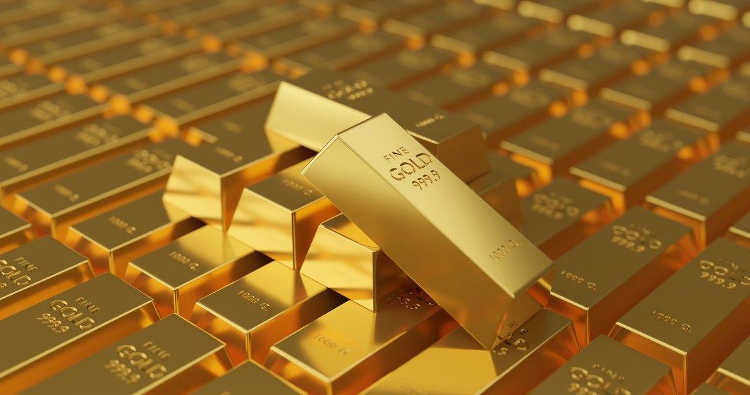 Aurul ajunge vineri la un nou maxim istoric - 259,1273 lei/gram