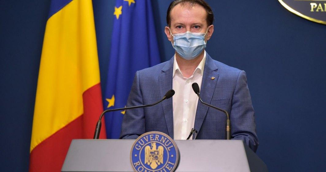 Florin Cîțu: De vineri, oricine se poate vaccina doar cu buletinul