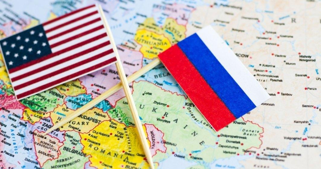 Rusia: Sancțiunile SUA reprezintă un act de război hibrid