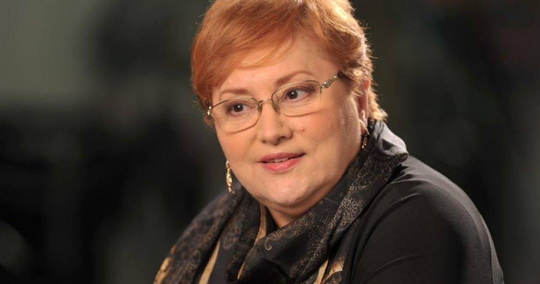 Renate Weber a fost numita in functia de Avocat al Poporului