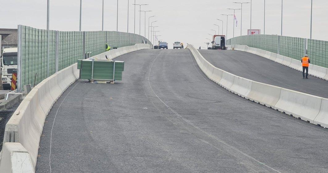 Pasajul Mogoșoaia se deschide traficului rutier