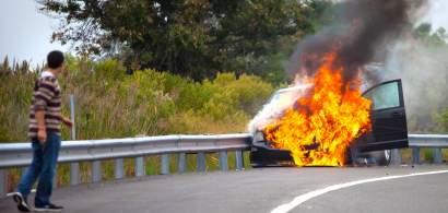 De ce iau foc tot mai multe mașini în mers