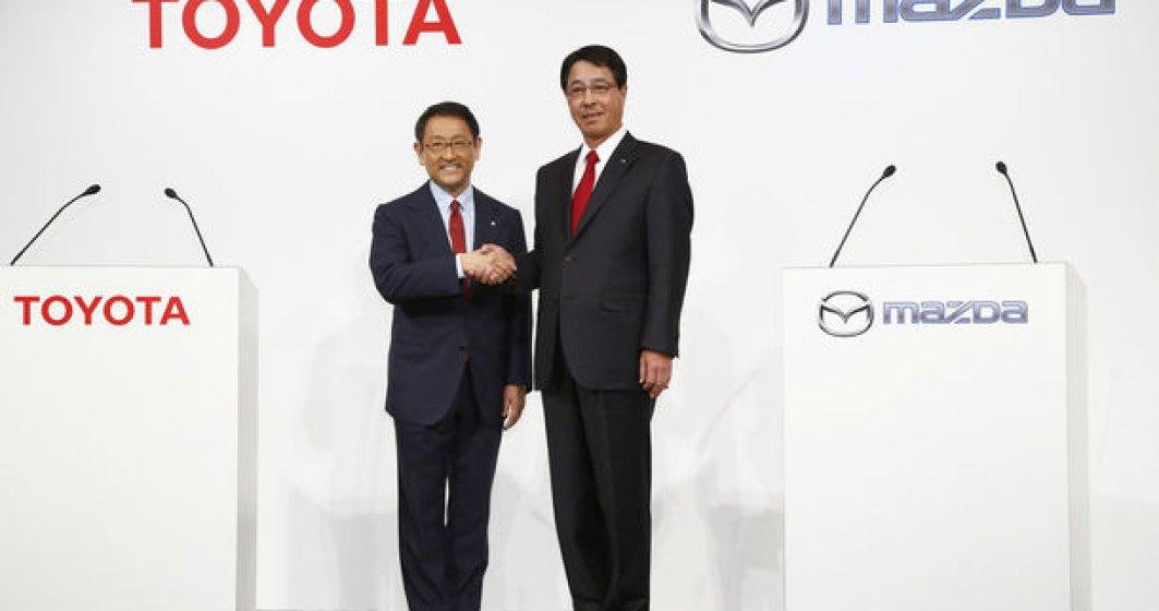 Toyota si Mazda vor construi o fabrica in SUA: investitie de 1.6 miliarde de dolari