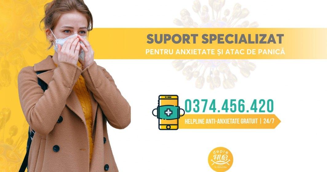 Coronavirus: Linie telefonică gratuită pentru românii care suferă de anxietate sau atacuri de panică