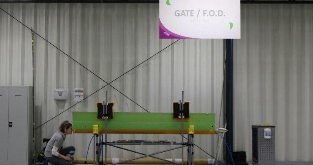 Belgienii de la Sonaca deschid o fabrica de componente pentru avioane intr-un sat din Cluj