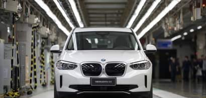 A început producţia modelului electric BMW iX3