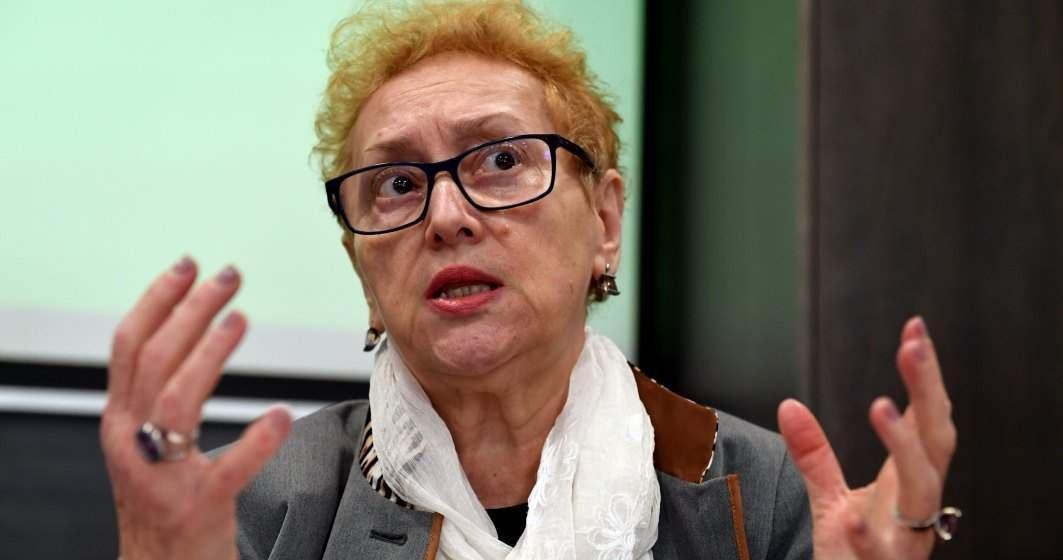 Renate Weber revine în funcție de Avocat al Poporului