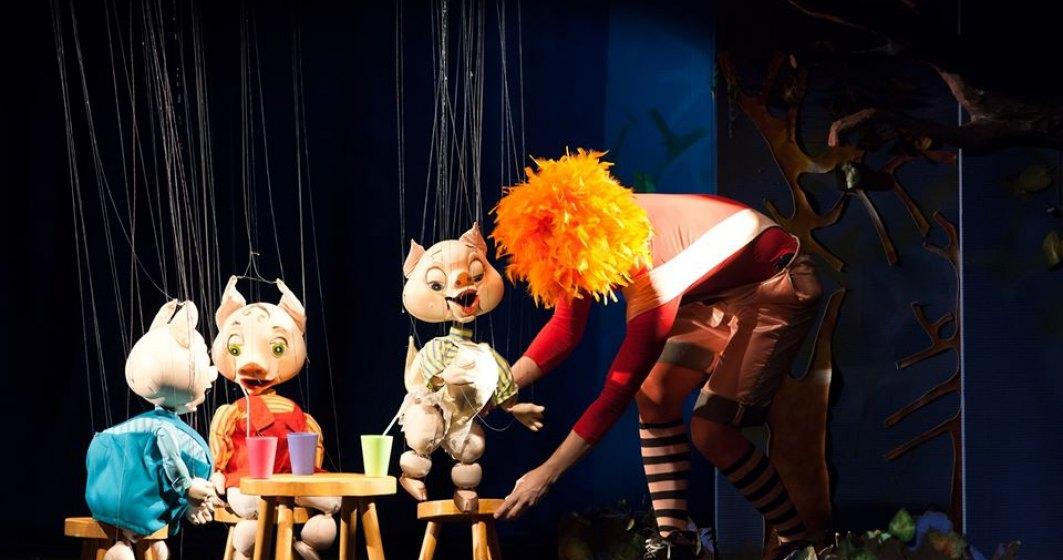 Teatrul pentru copii Țăndărică transmite o seri de spectacole online, pe pagina de Facebook