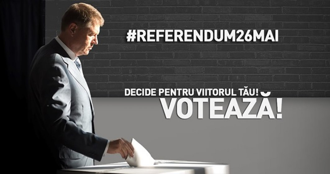 """Presedintele Klaus Iohannis da startul campaniei pentru referendum, pe Facebook: """"Decide pentru viitorul tau! Voteaza!"""""""