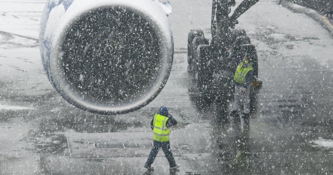 CNAB: Cursele aeriene pot inregistra intarzieri de 30 de minute la decolare, sambata dimineata; nici o cursa nu a fost anulata
