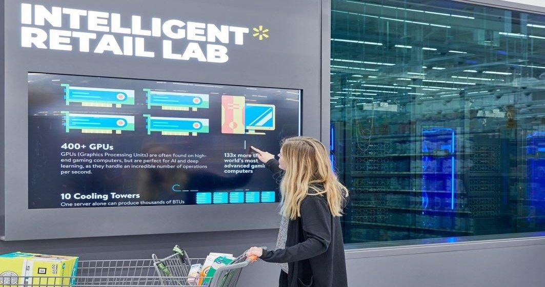 Cum foloseste Walmart Inteligenta Articifiala pentru a verifica stocul, data de expirare si disponibilitatea caselor de marcat