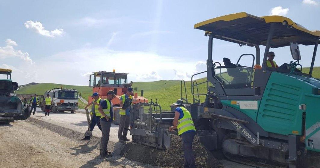 Constructorul Aktor: Inca un segment al autostrazii A10 Sebes - Turda va fi deschis traficului rutier la finalul anului