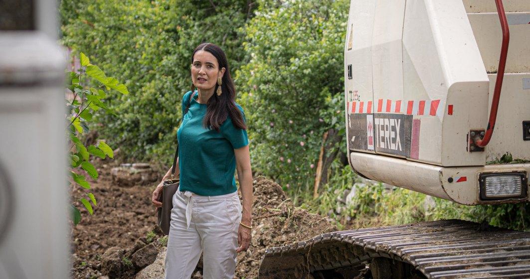 Clotilde Armand a semnat contractul de salubrizare pentru perioada stării de alertă