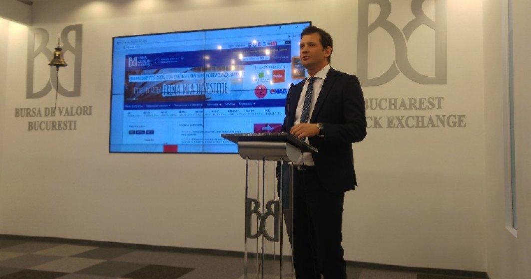 """Noul sef al Bursei: Populatia nu vrea sa fie """"fluenta in finance"""". Trebuie sa """"banalizam"""" investitia in actiuni"""