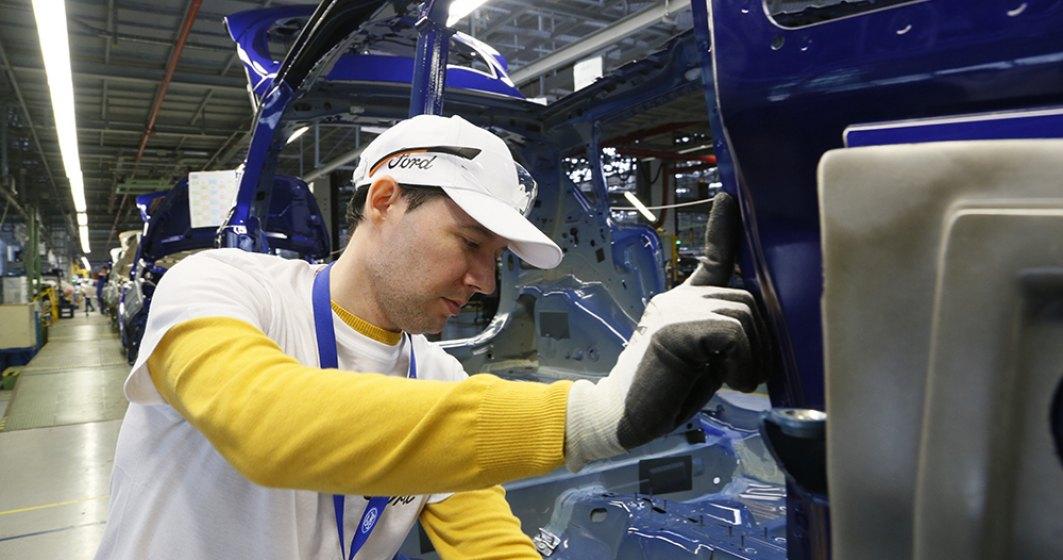 O zi de munca in fabrica de automobile Ford Craiova: 7 ore si 24 de minute