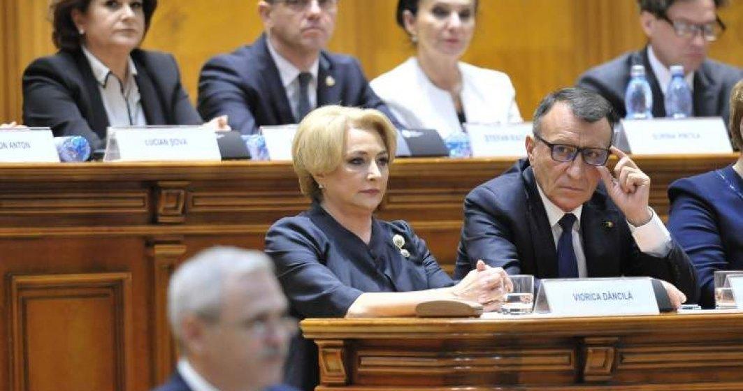 Viorica Dancila sare in apararea lui Dragnea si sesizeaza CCR cu privire la formarea completurilor de 5 judecatori