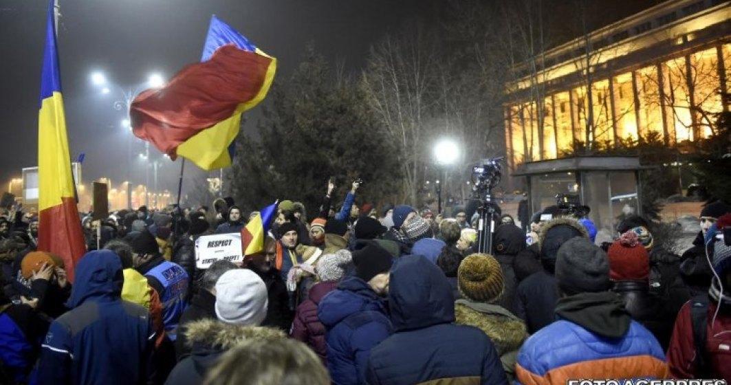 Live Blogging din Piata Victoriei: Noi proteste impotriva ordonantelor de modificare a Codurilor Penale