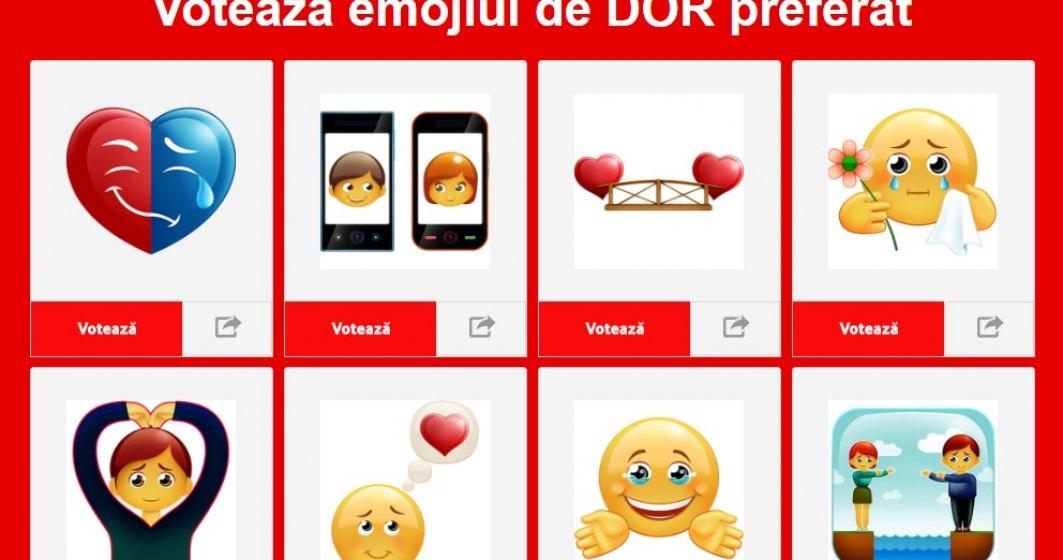 "Emoji ""made in Romania"" - Vodafone va crea emoji-ul ""dor"""