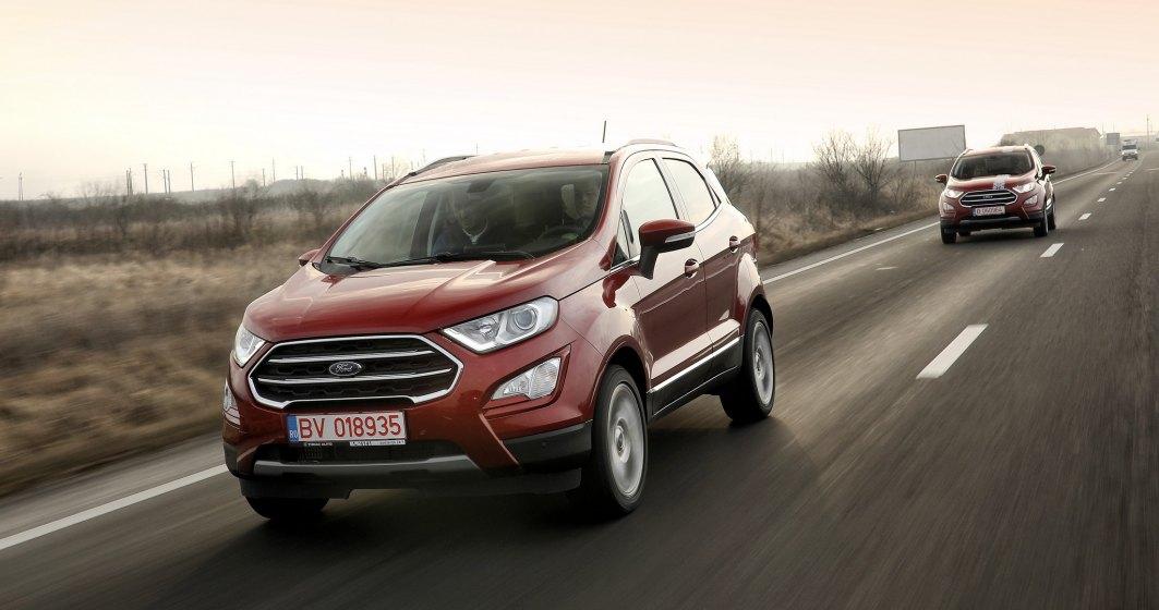 Test drive cu SUV-ul Ford EcoSport fabricat la Craiova